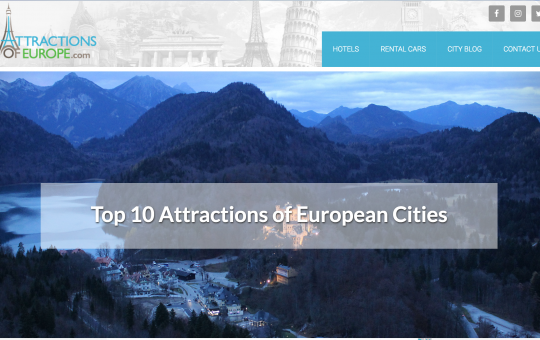 Attractions of Europe